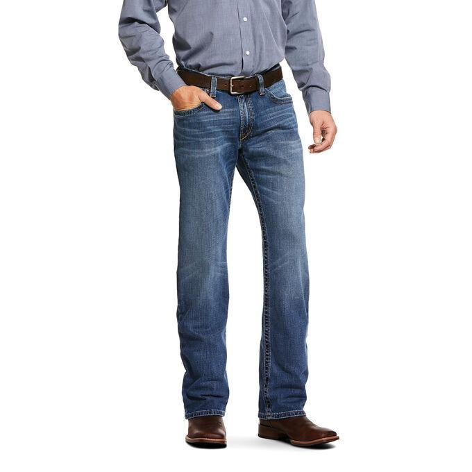 ARIAT M4 3D NILES LEDGE BOOT CUT JEAN