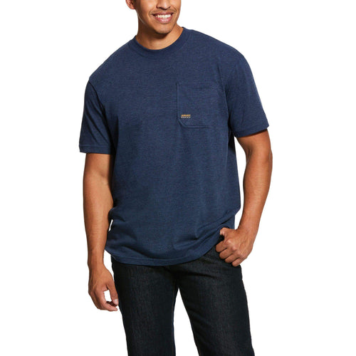 ARIAT REBAR COTTON STRONG AMERICAN GRIT TEE
