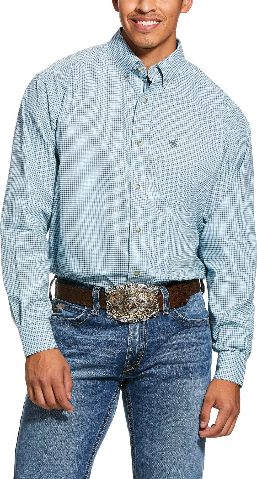 ARIAT PRO NOVATO LS BUTTON SHIRT