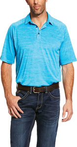 ARIAT CHARGER POLO NAUTILUS BLUE