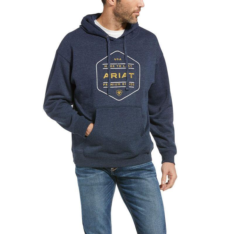 ARIAT MADE TO LAST HOODIE - Patton's