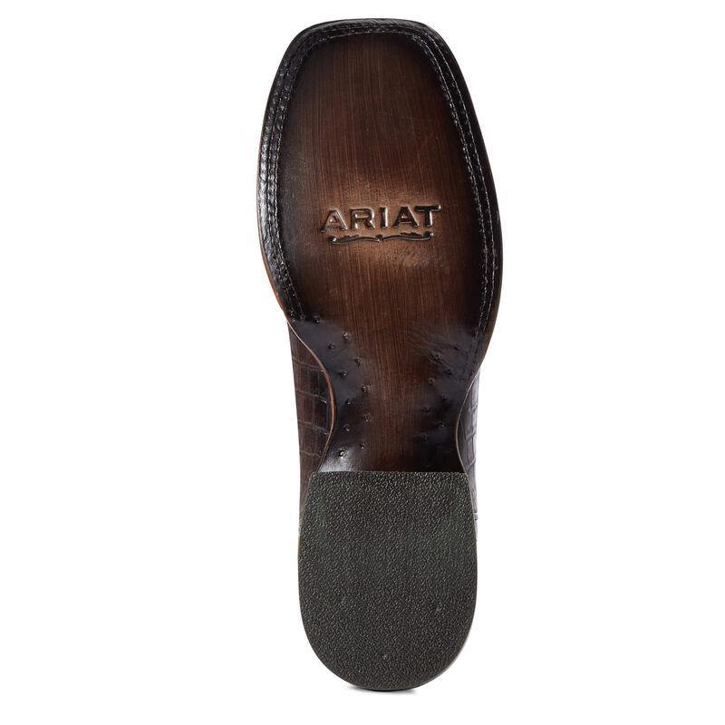 ARIAT COCOA CROCO CIRCUIT SCRAPPER BOOT - Patton's