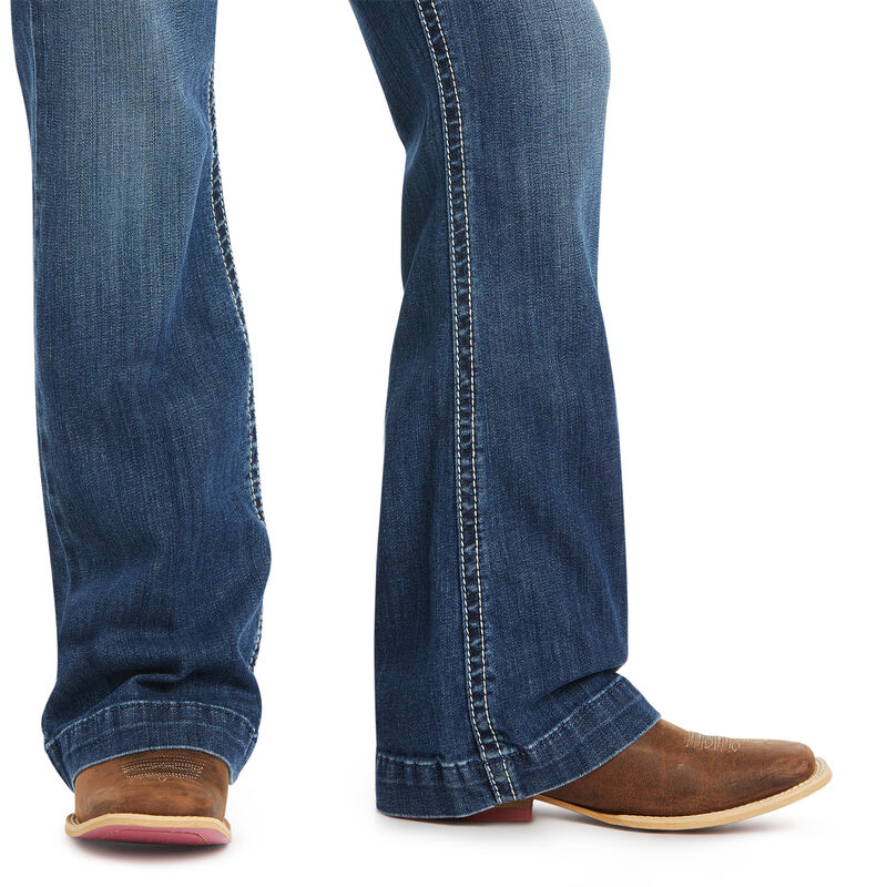 ARIAT GIRL'S R.E.A.L CHARLOTTE WIDE JEAN