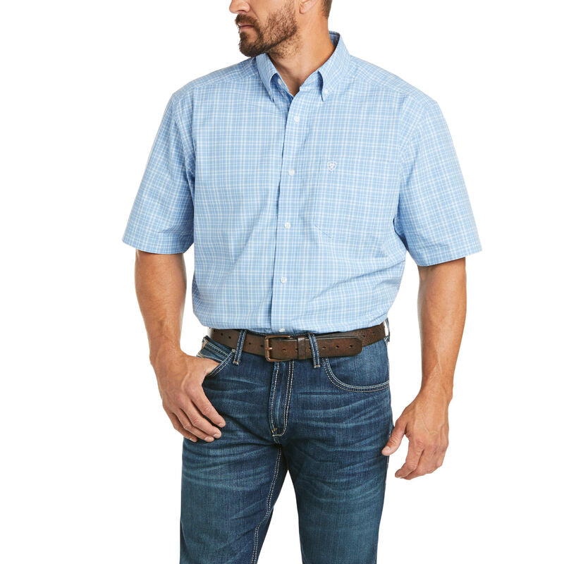 ARIAT PRO SERIES FRASER CLASSIC FIT SS BUTTON SHIRT