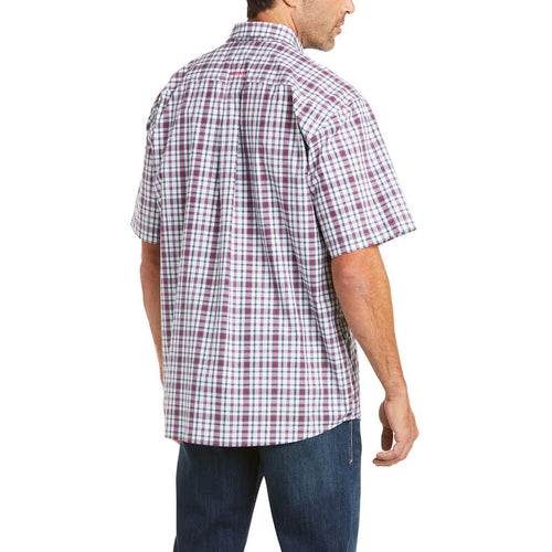 ARIAT PRO SERIES TAYSON CLASSIC FIT SS BUTTON SHIRT