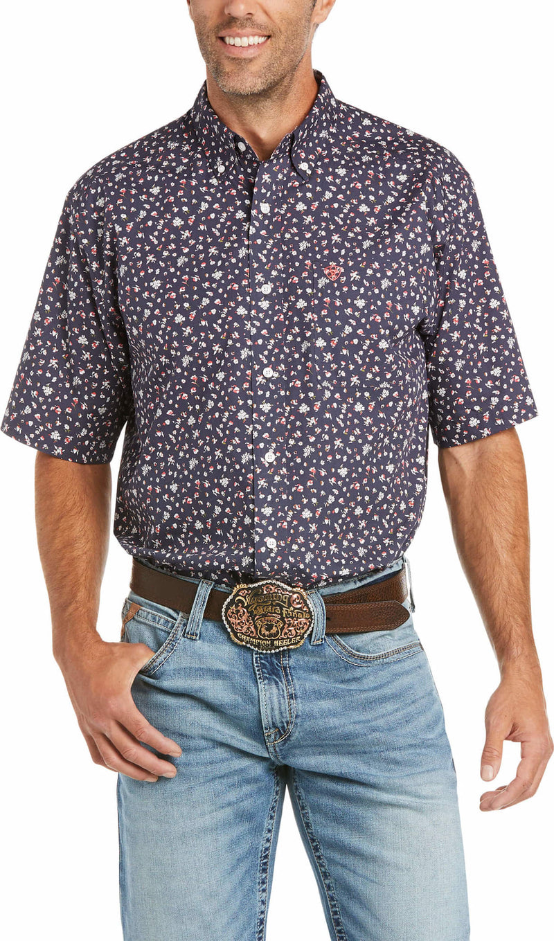 ARIAT WRINKLE FREE RAMSEY CLASSIC SS BUTTON SHIRT