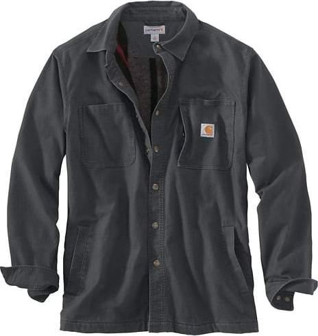 CARHARTT RUGGED FLEX® RIGBY SHIRT JAC FLEECE-LINED - Patton's