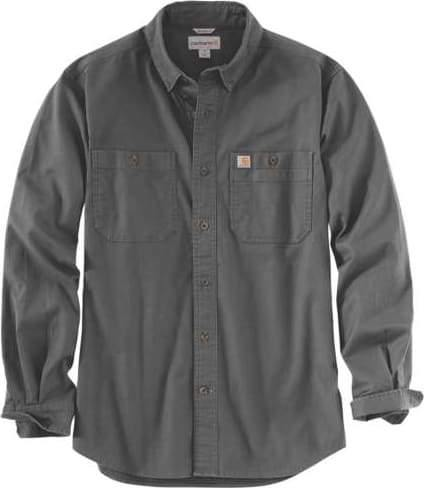 CARHARTT RUGGED FLEX RIGBY LONG SLEEVE WORK SHIRT