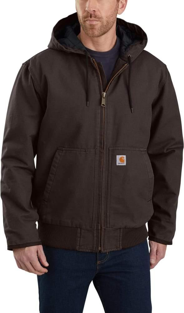 CARHARTT WASHED DUCK INSULATED ACTIVE JAC - Patton's