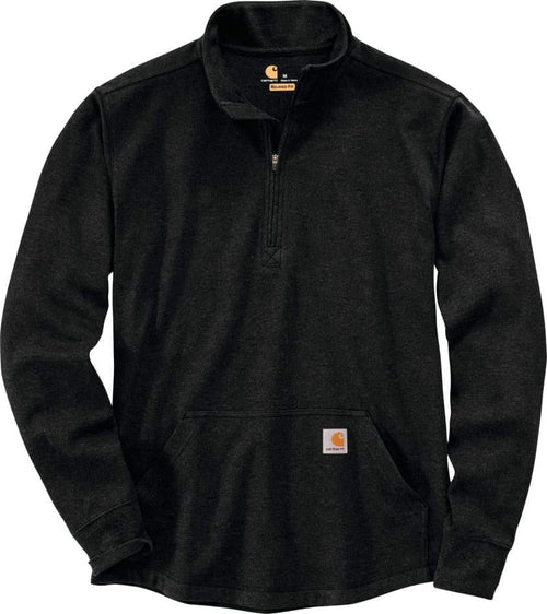 CARHARTT® RELAXED FIT HEAVYWEIGHT LONG-SLEEVE HALF ZIP THERMAL T-SHIRT
