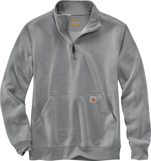 CARHARTT FORCE® RELAXED FIT MIDWEIGHT 1/4 ZIP POCKET SWEATSHIRT