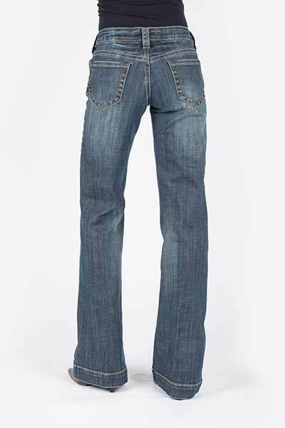 STETSON CITY TROUSER MED WASH