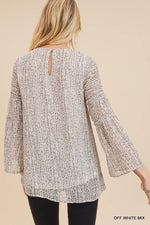 EMILY BELL SLEEVED TOP