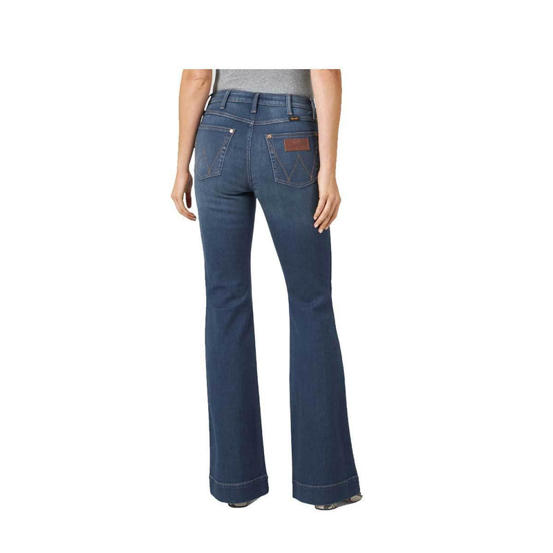 WRANGLER RETRO® PREMIUM HIGH RISE TROUSER JEAN - Patton's