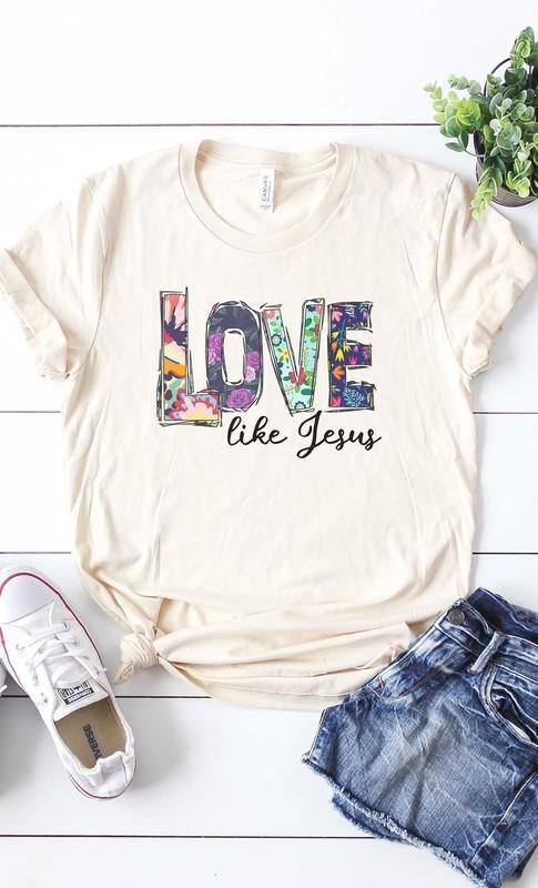 LOVE LIKE JESUS GRAPHIC TEE - Patton's