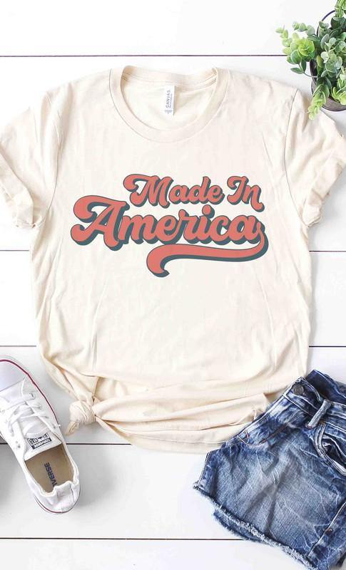 MADE IN AMERICA GRAPHIC TEE - Patton's
