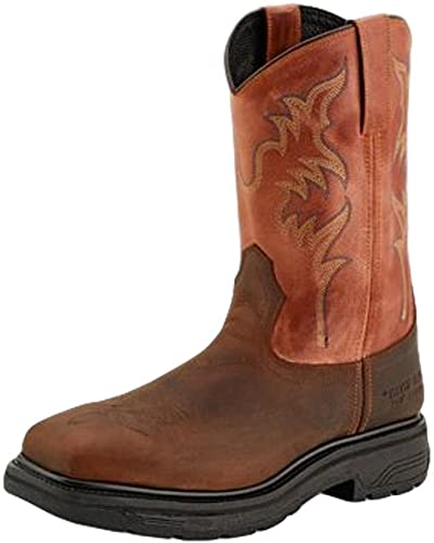 OLD WEST SQUARE TOE STEEL TOE WORK BOOT
