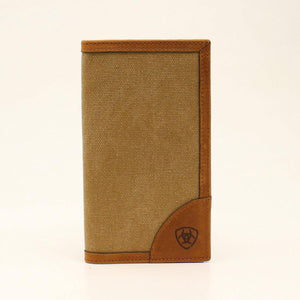 ARIAT CANVAS RODEO WALLET