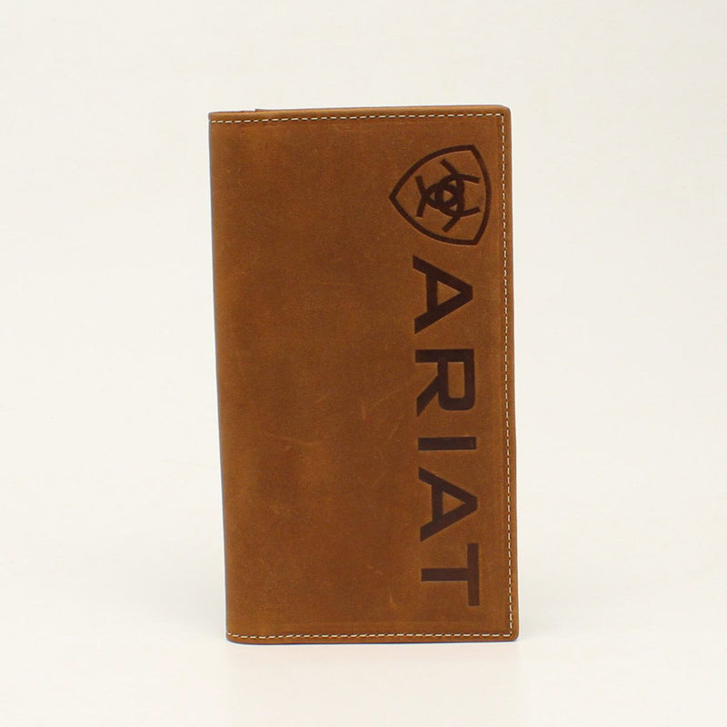 ARIAT RODEO WALLET VERTICAL EMBOSSED LOGO