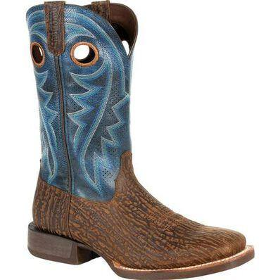 DURANGO REBEL PRO BLUE VENTILATED WESTERN BOOT - Patton's
