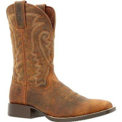 DURANGO® WESTWARD™ PRAIRIE BROWN WESTERN BOOT - Patton's