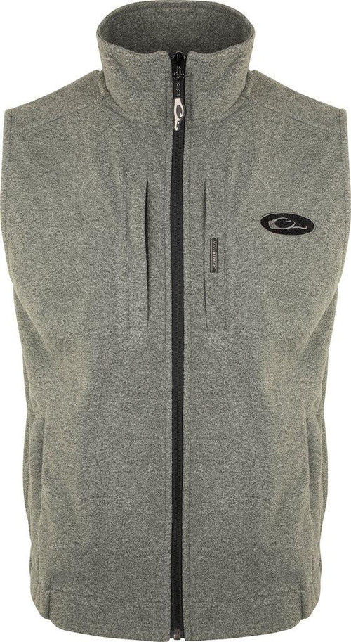 DRAKE HEATHER WINDPROOF LAYERING VEST - Patton's