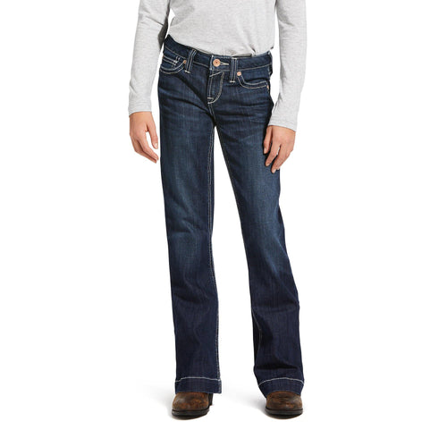 ARIAT GIRL'S ELLA TROUSER JEAN - Patton's