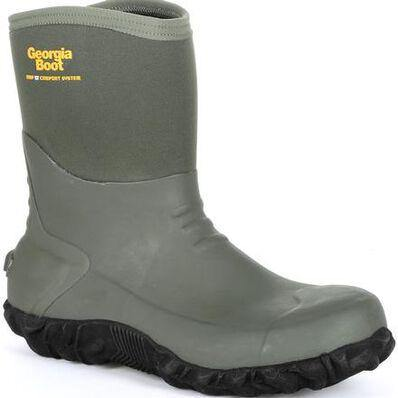 GEORGIA WATERPROOF MID RUBBER BOOT - Patton's