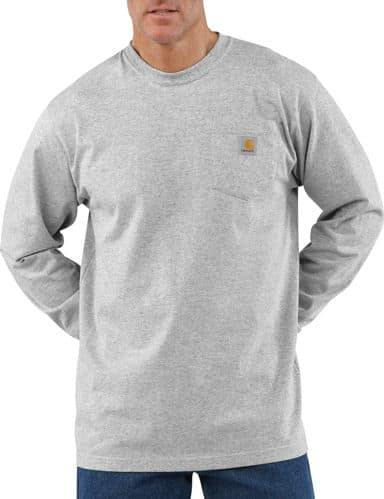 CARHARTT WORKWEAR LONG-SLEEVE POCKET T-SHIRT - Patton's