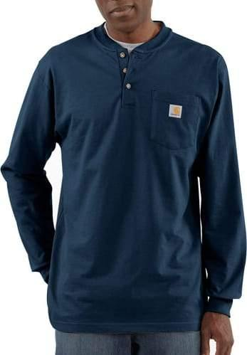 CARHARTT WORKWEAR LONG-SLEEVE HENLEY T-SHIRT