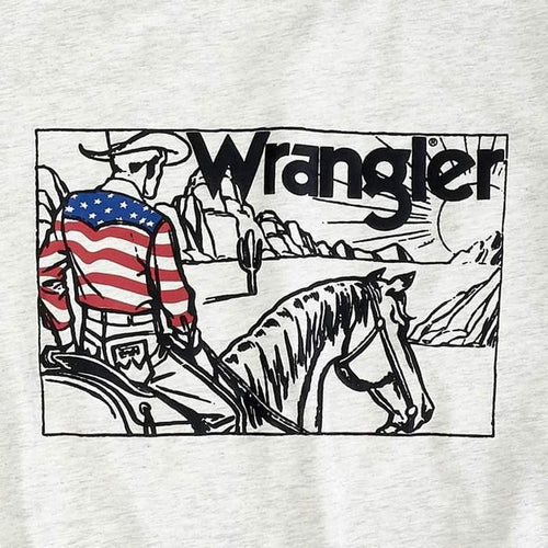 WRANGLER RETRO FLAG RIDER GRAPHIC TEE