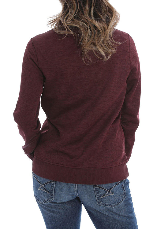CINCH WOMEN'S 1/4 ZIP SWEATER KNIT PULLOVER - Patton's