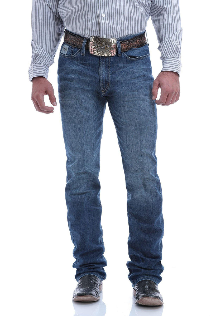 CINCH SLIM FIT SILVER LABEL MEDIUM WASH PERFORMACE STRETCH JEAN