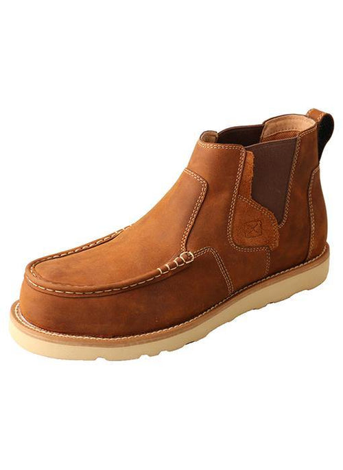 TWISTED X WEDGE SOLE CHELSEA NANO TOE SAFETY SHOE - Patton's