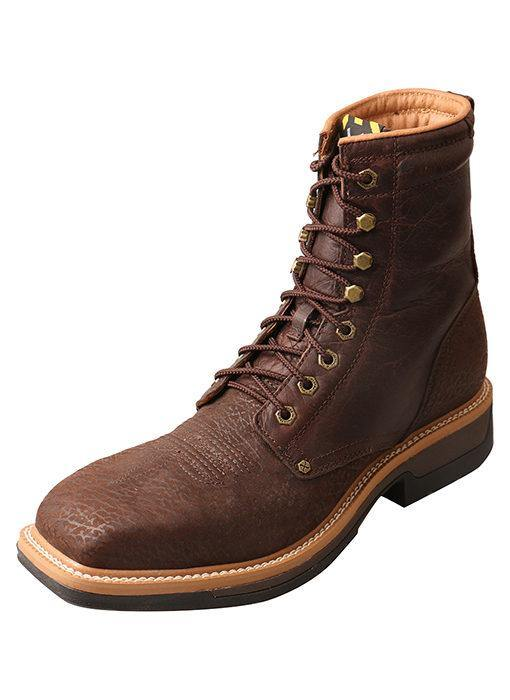 TWISTED X LITE ALLOY TOE WESTERN WORK LACER - Patton's