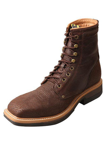 TWISTED X LITE ALLOY TOE WESTERN WORK LACER