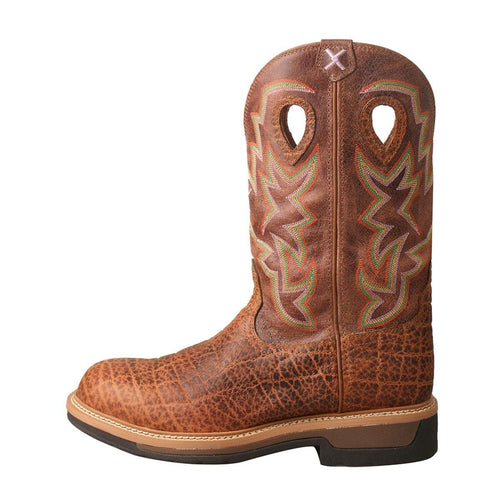 TWISTED X ELEPHANT PRINT COMPOSITE TOE WORK BOOT - Patton's