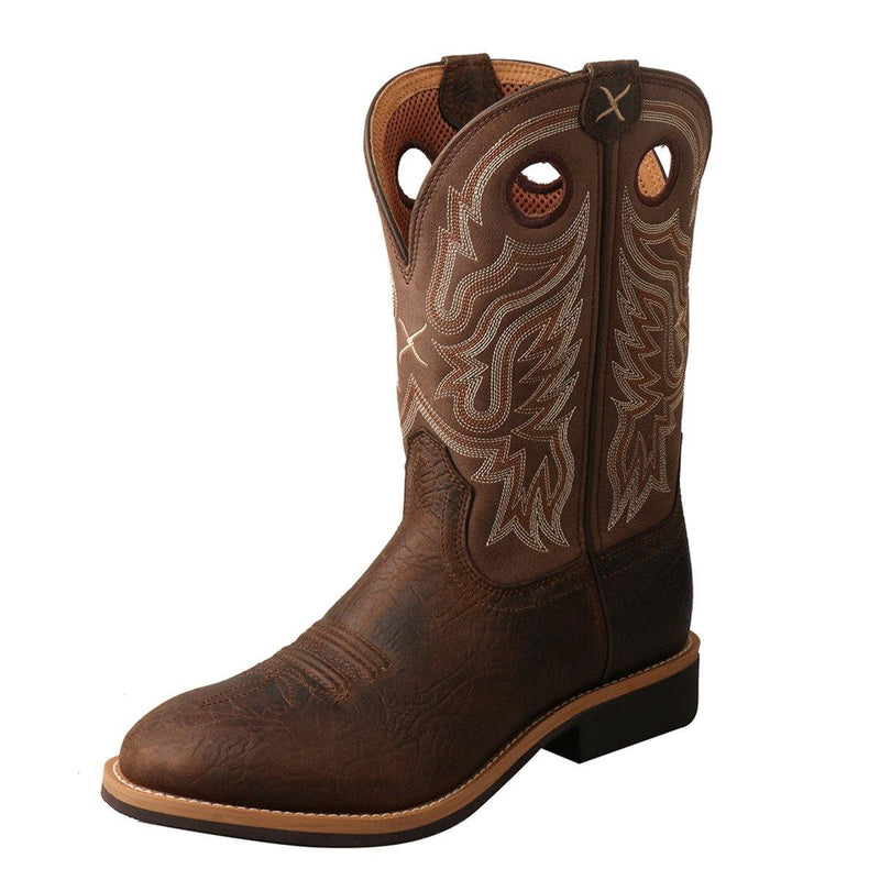 TWISTED X TOP HAND ROPER TAUPE/BROWN - Patton's