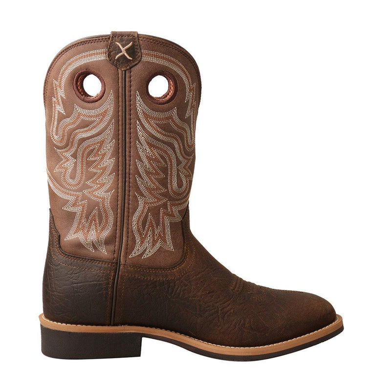 TWISTED X TOP HAND ROPER TAUPE/BROWN