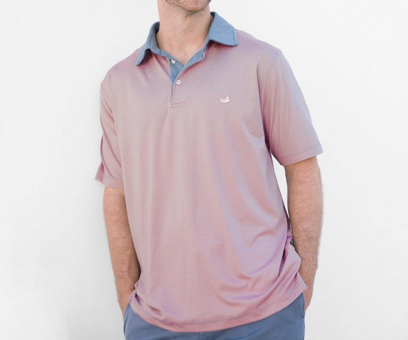 SOUTHERN MARSH BERMUDA PERFORMANCE POLO HAWTHORNE