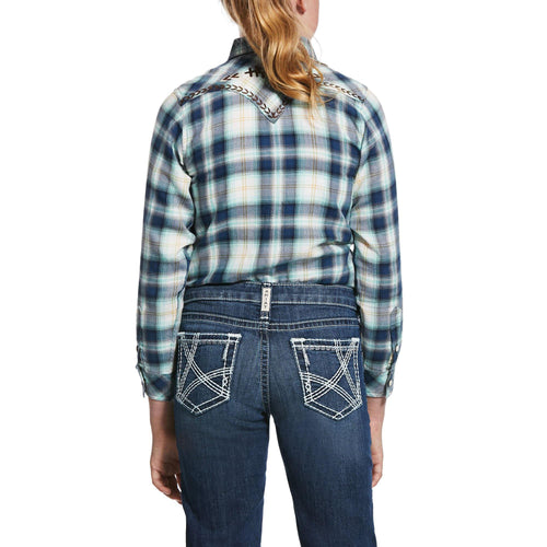 ARIAT GIRL'S INTEGRITY SNAP WESTERN SHIRT - Patton's