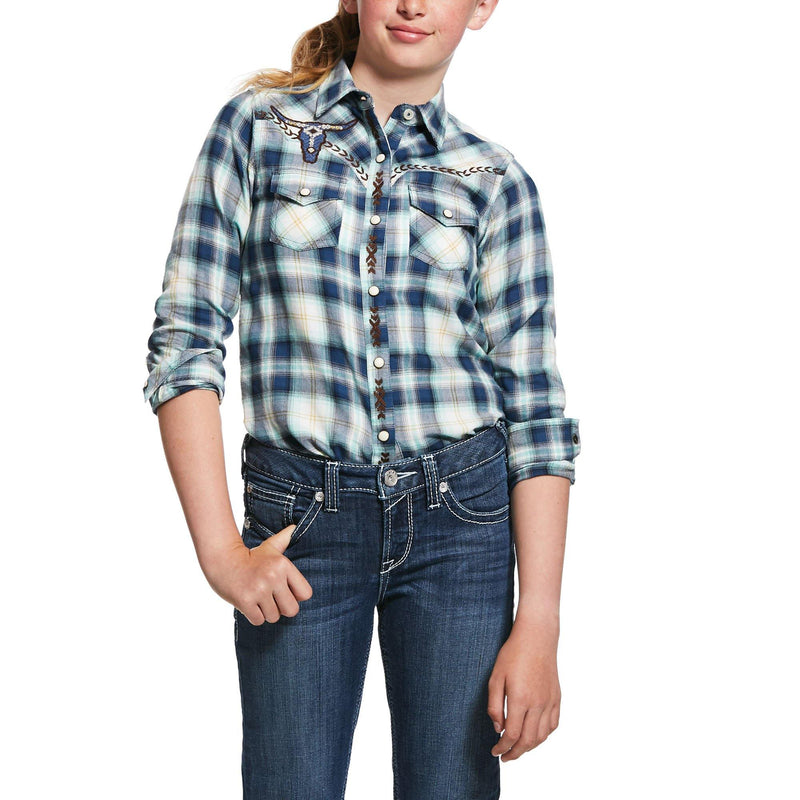 ARIAT GIRL'S INTEGRITY SNAP WESTERN SHIRT