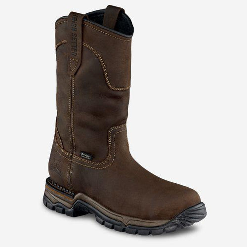 IRISH SETTER TWIN HARBORS WP WORK BOOT - Patton's