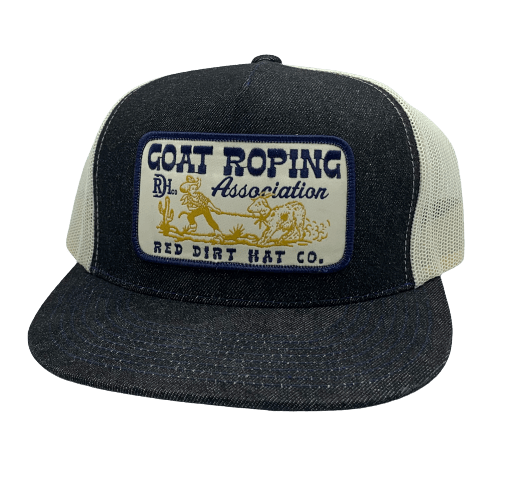 RED DIRT HAT CO GOAT ROPING CAP