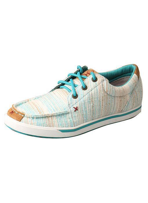 TWISTED X WOMEN'S HOOEY LOPER BLUE/MULI - Patton's