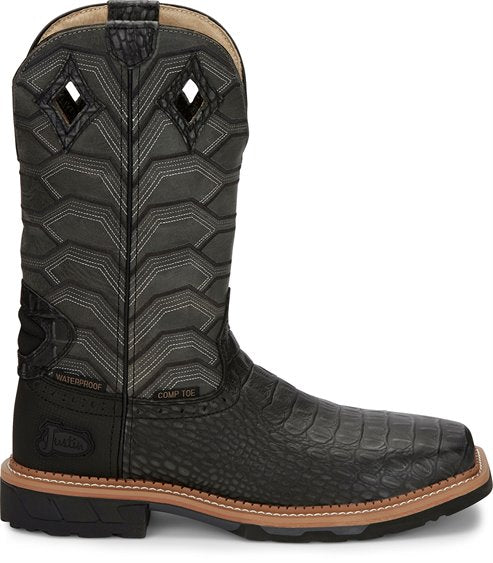 JUSTIN DERRICKMAN COMP TOE WORK BOOT