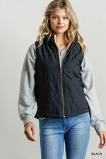 AINSLEY ZIP UP VEST