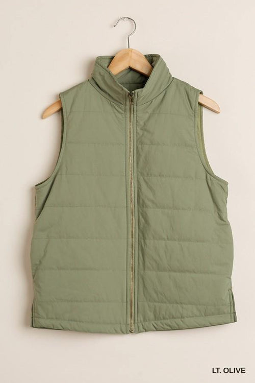 AINSLEY ZIP UP VEST - Patton's
