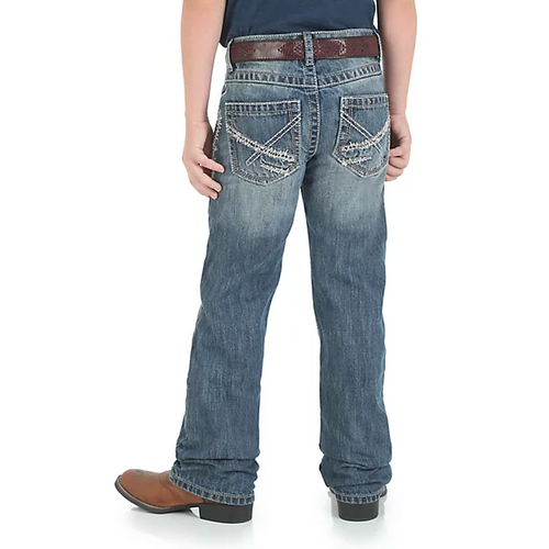 WRANGLER® 20X® BOY'S VINTAGE BOOTCUT SLIM FIT JEAN (4-7) - Patton's