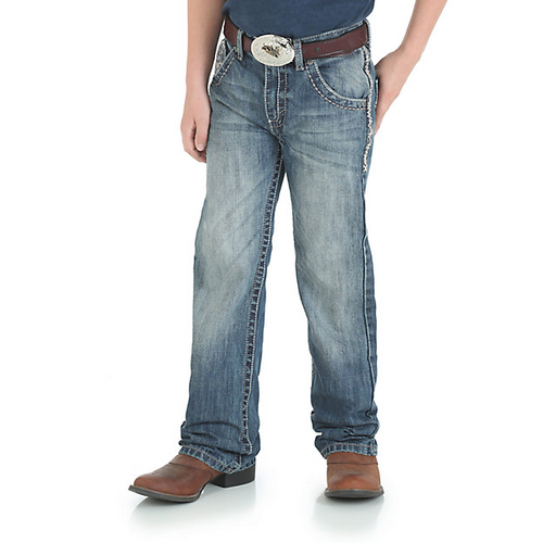 WRANGLER® 20X® BOY'S VINTAGE BOOTCUT SLIM FIT JEAN (8-16) - Patton's